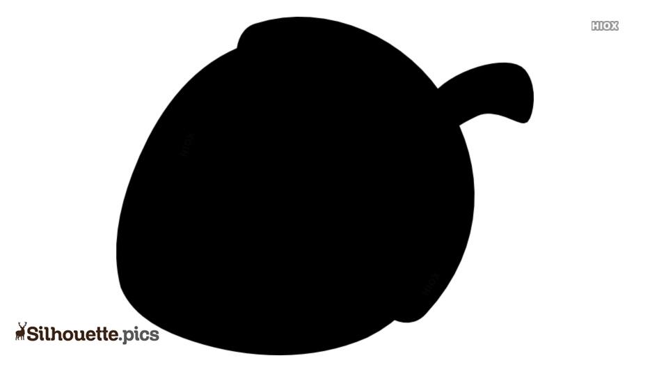 Acorn Clipart Silhouette Clip Art