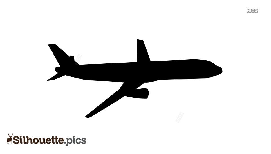 Aeroplane Silhouette Image