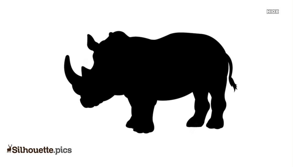 Rhinoceros Silhouette Images
