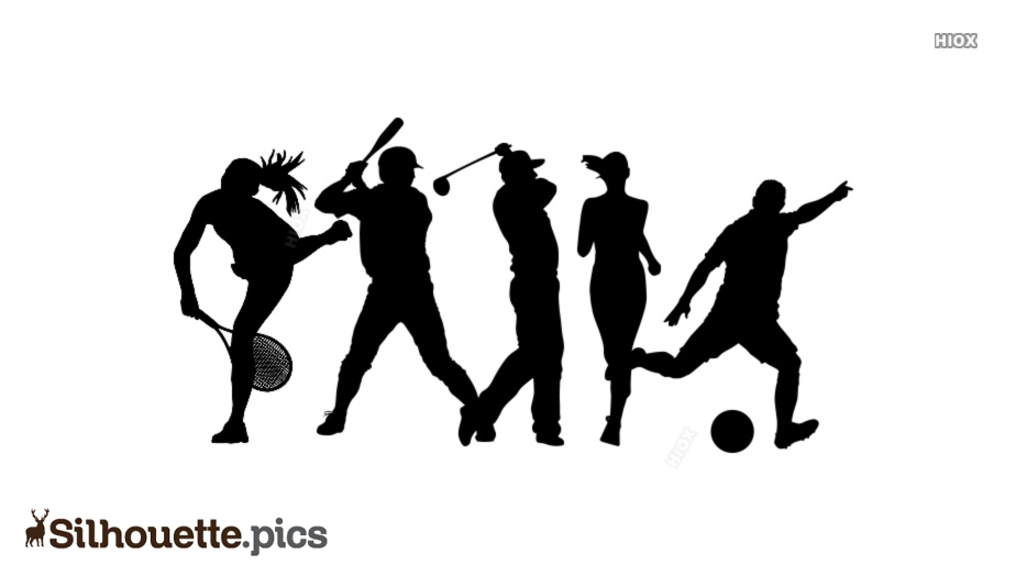 Games Silhouette Images, Vector Art