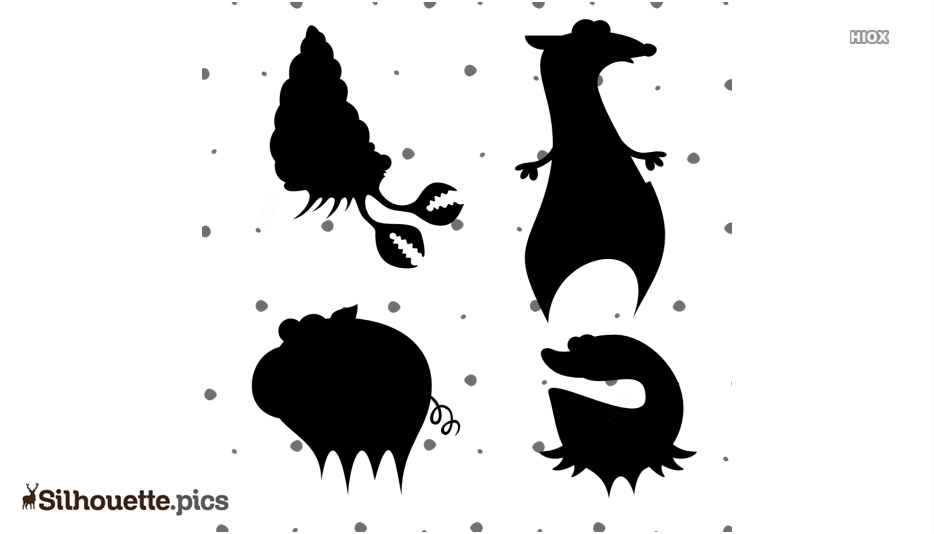 Animal Vector Silhouette Clip Art