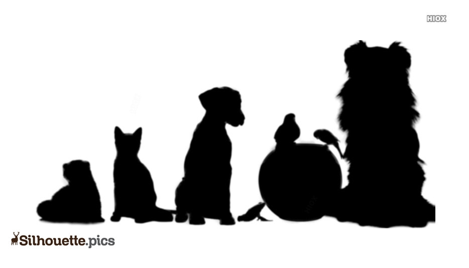 Animals Clipart Silhouette Art