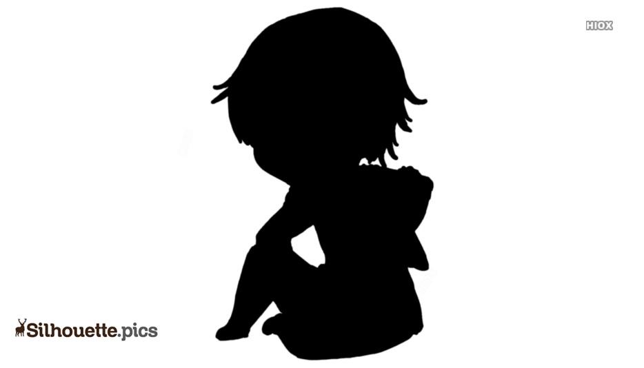 Anime Boy Silhouette Clip Art