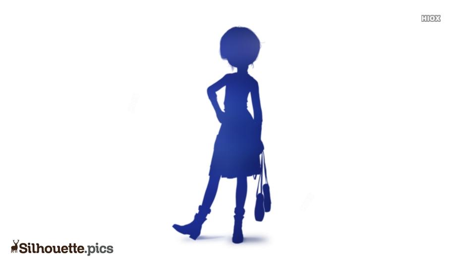 Anime Feet Ballerina Silhouette