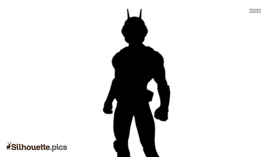 Ant-man Character Silhouette Clipart