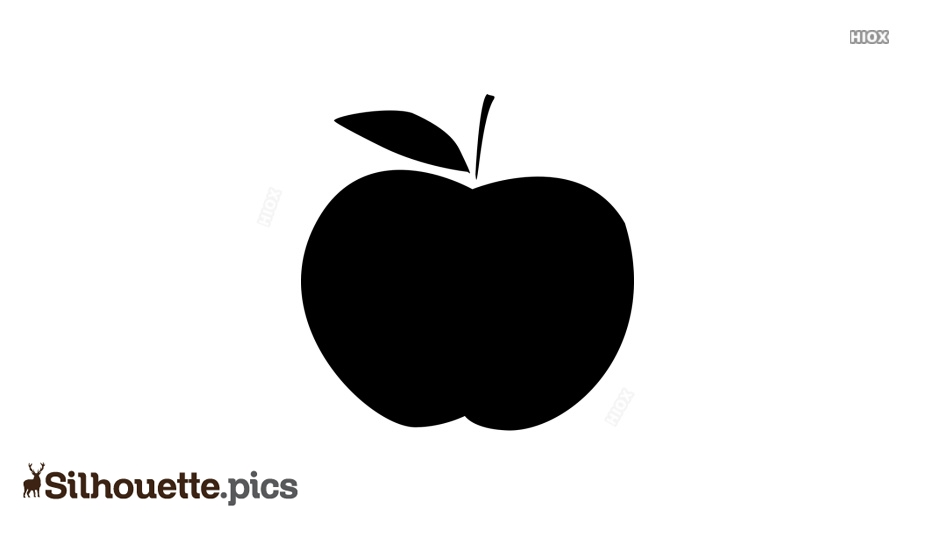 Apple Silhouette Png