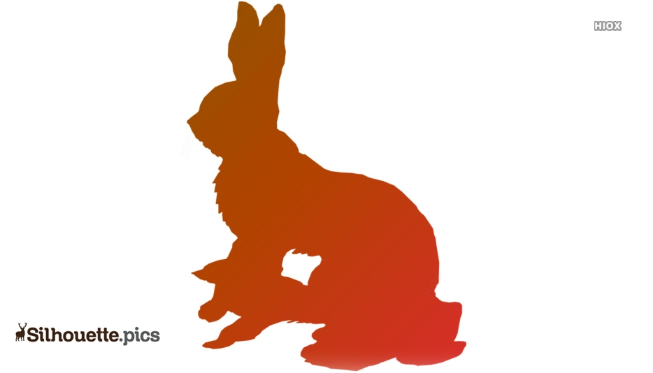Arctic Hare Clipart Free Download Silhouette