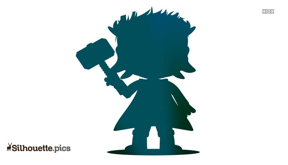 Avenger Silhouette Clip Art