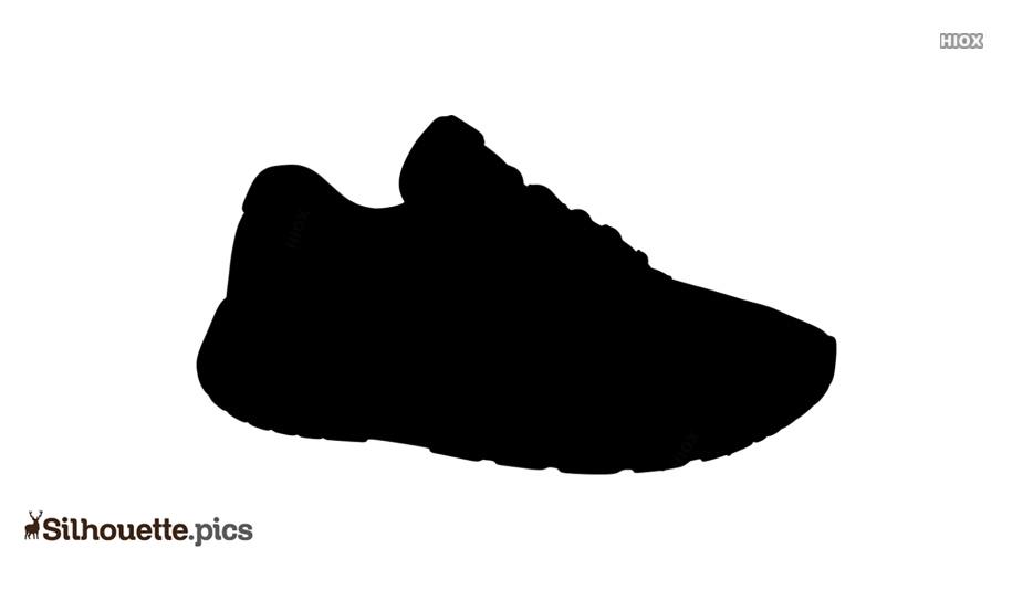 Ballerina Shoe Silhouette