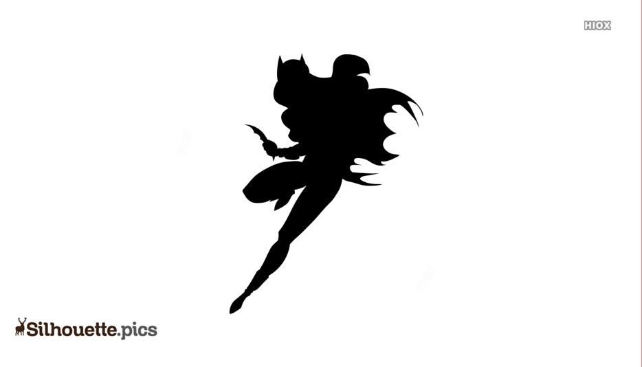 Batwoman Pose Silhouette