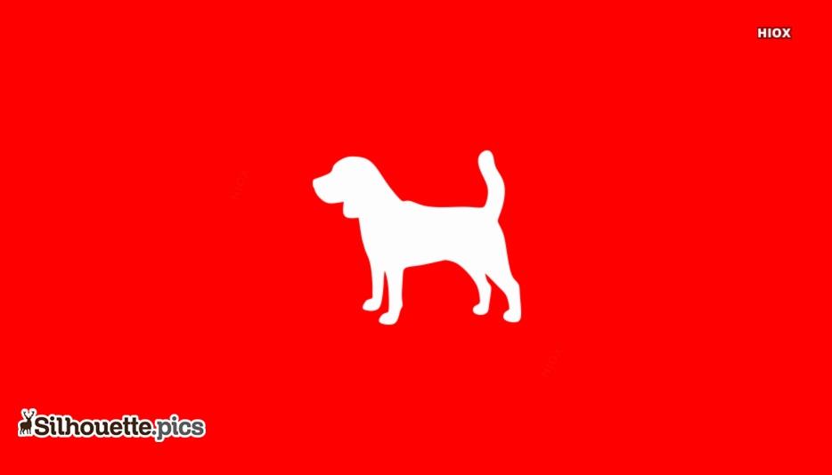 Beagle Dog Silhouette Image