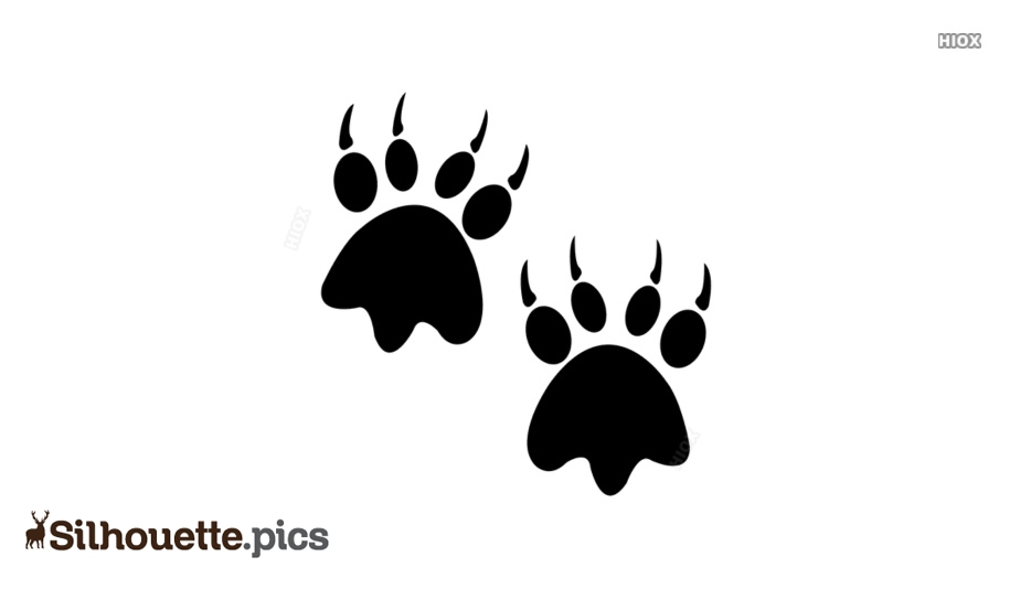 Bear Silhouette Vectors, Images