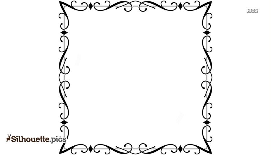 Borders Silhouette Designs Free Download
