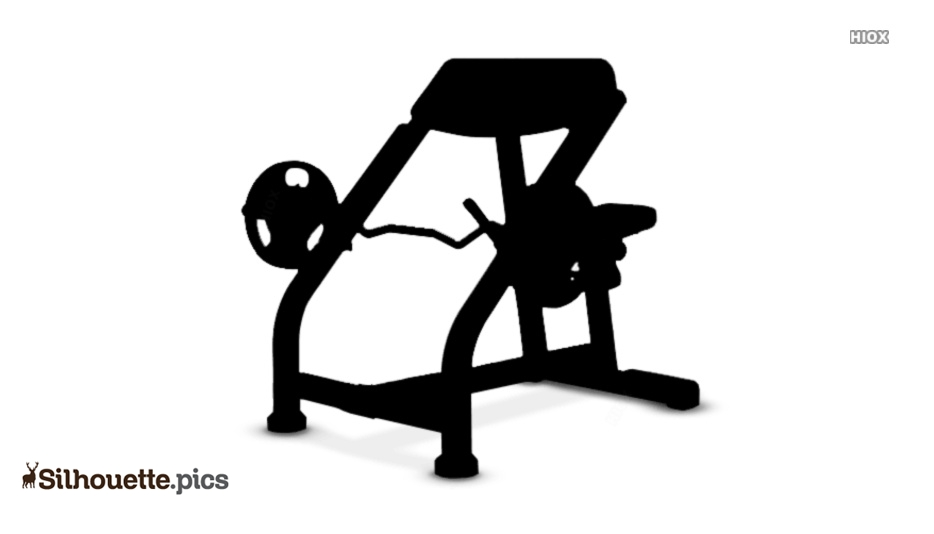 Dumbbell Curls Silhouette Images