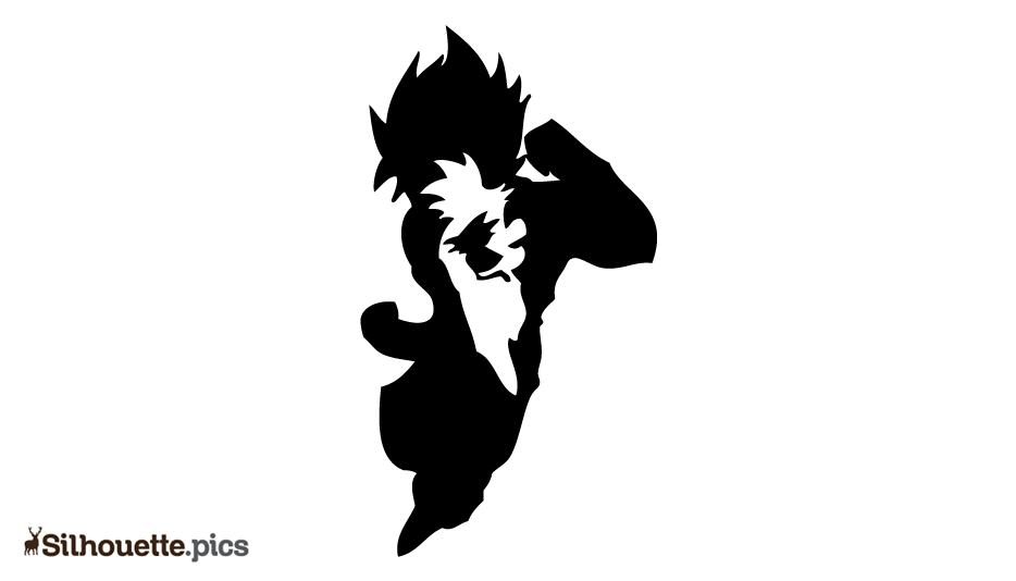 Best Dragon Ball Vector Silhouette Image