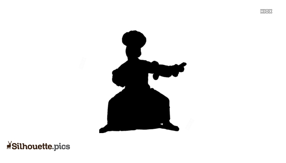 Traditional Dance Silhouette Images