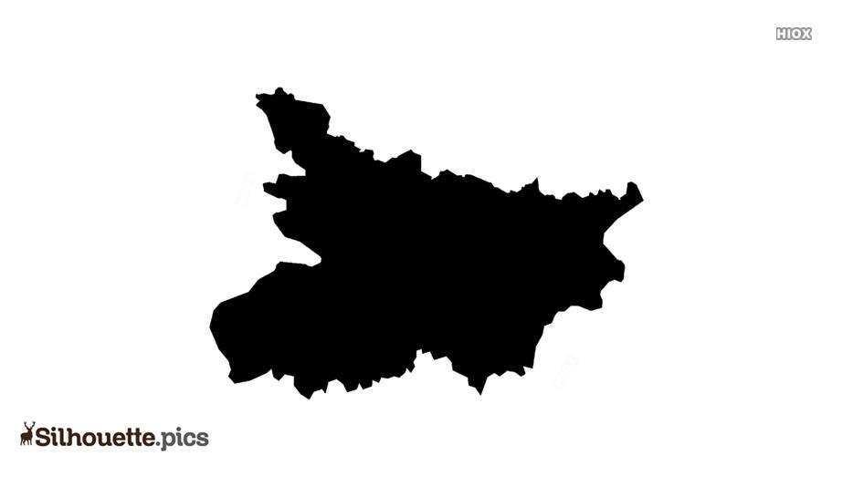 Bihar State Silhouette