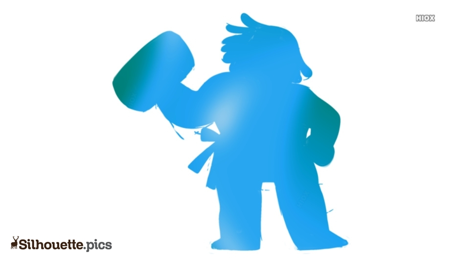 Bismuth Silhouette Clipart