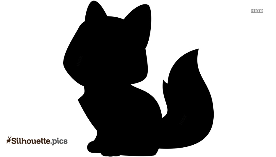 Cartoon Fox  Silhouette Images, Cliparts