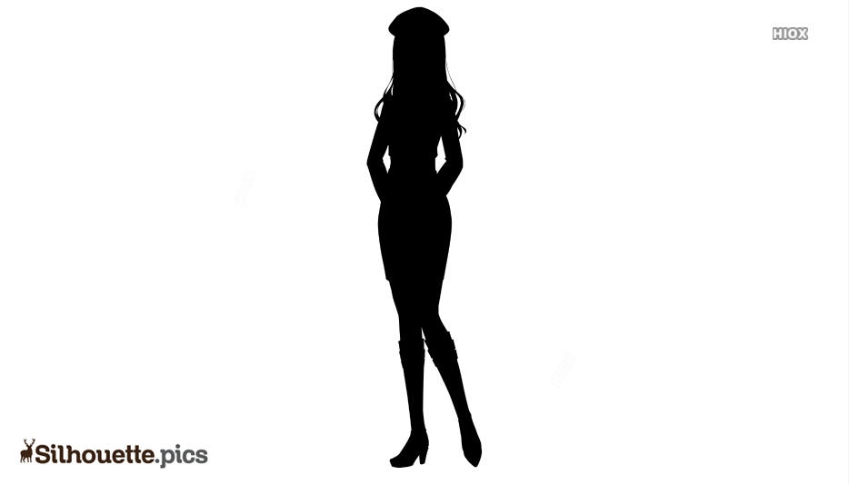 Trendy Woman Silhouette Images