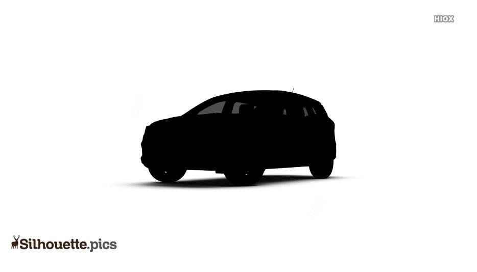 Black Car Silhouette Image Clipart