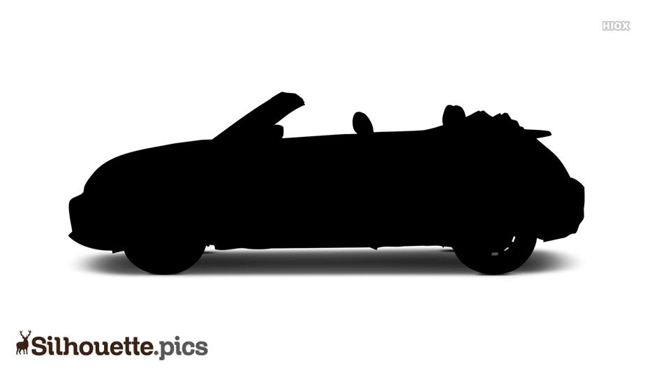 Black Car Silhouette Wallpaper