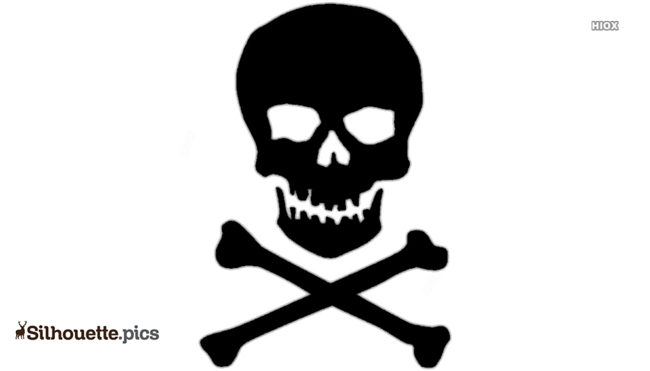 Black Danger Symbol Silhouette Image