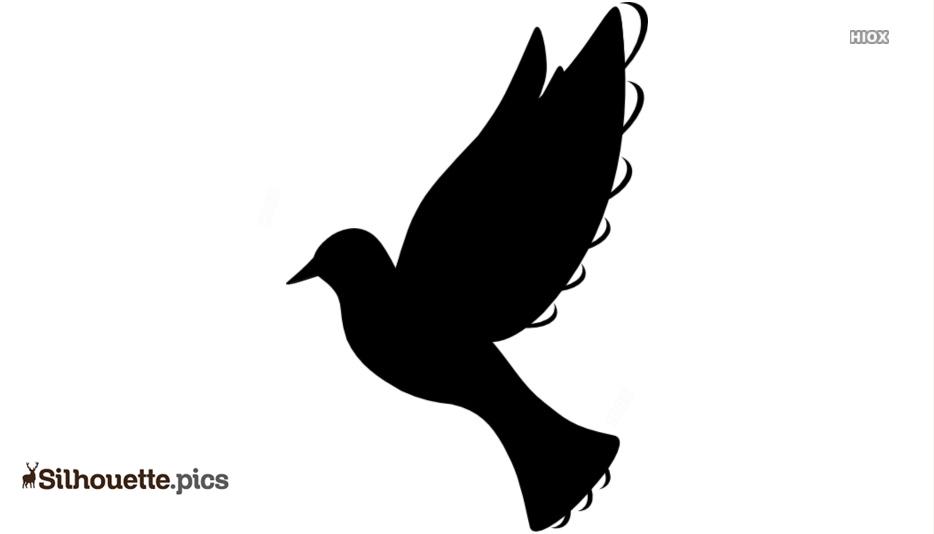 Black Dove Silhouette
