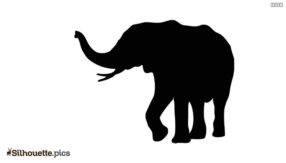 Black Elephant Silhouette