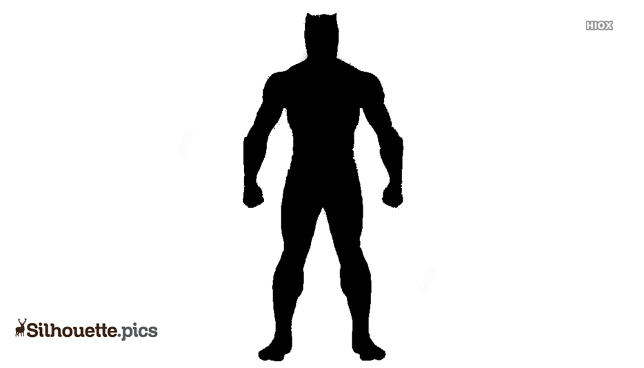Black Panther Avengers Silhouette Free Vector Art