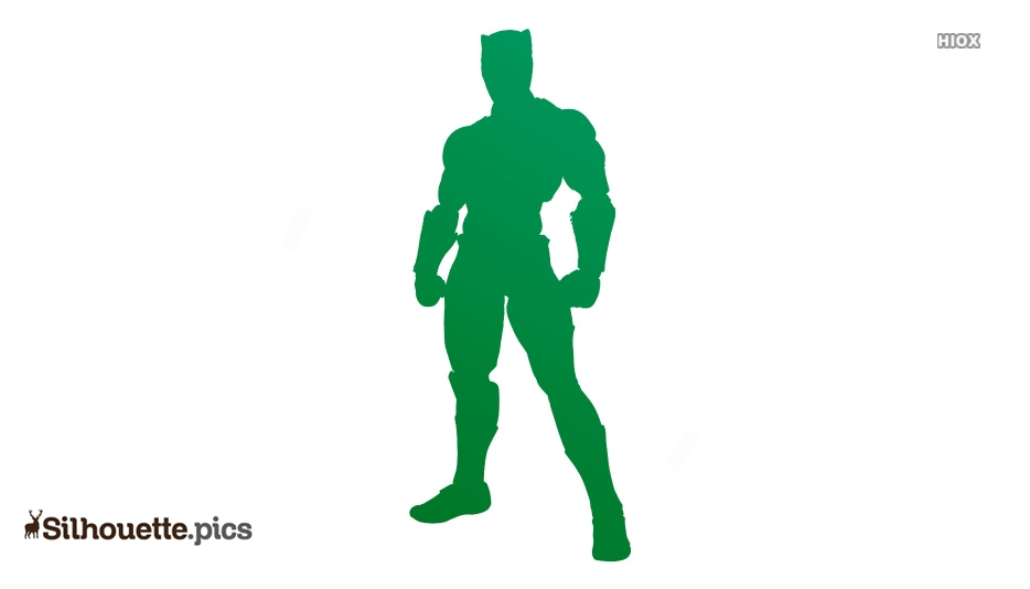 Black Panther Avengers Silhouette Illustration