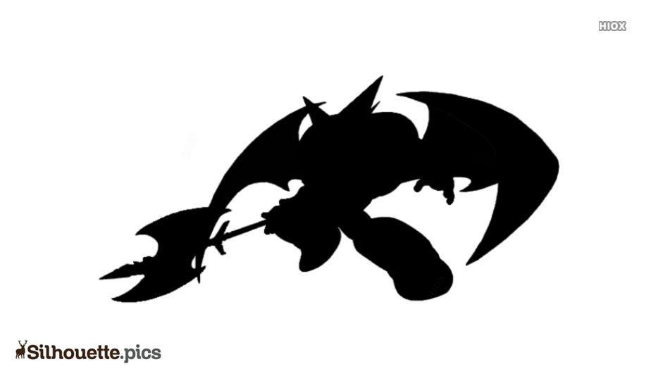 Black Shin Getter Robo Silhouette Image