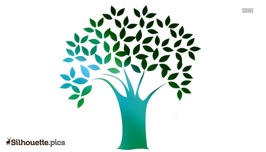 Bodhi Tree Logo Silhouette For Download