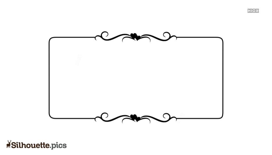 Border Art Design Silhouette Vector And Graphics