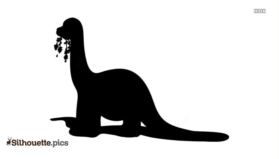 Brontosaurus Silhouette Picture