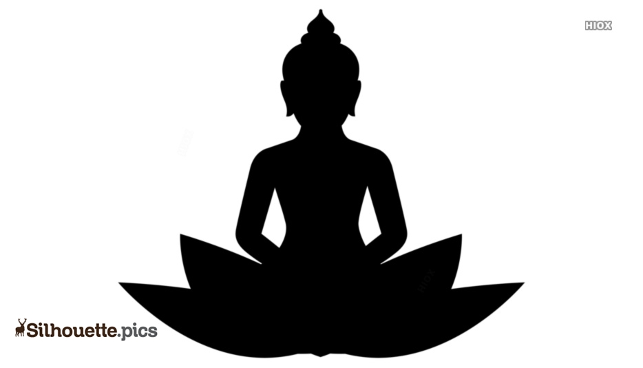 Buddha Silhouette Icon