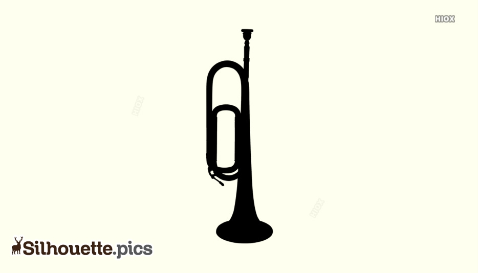 Bugle Silhouette Image
