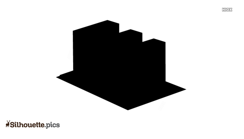 Building Icon Silhouette Vector And Graphics