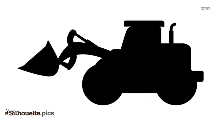 Bulldozer Silhouette
