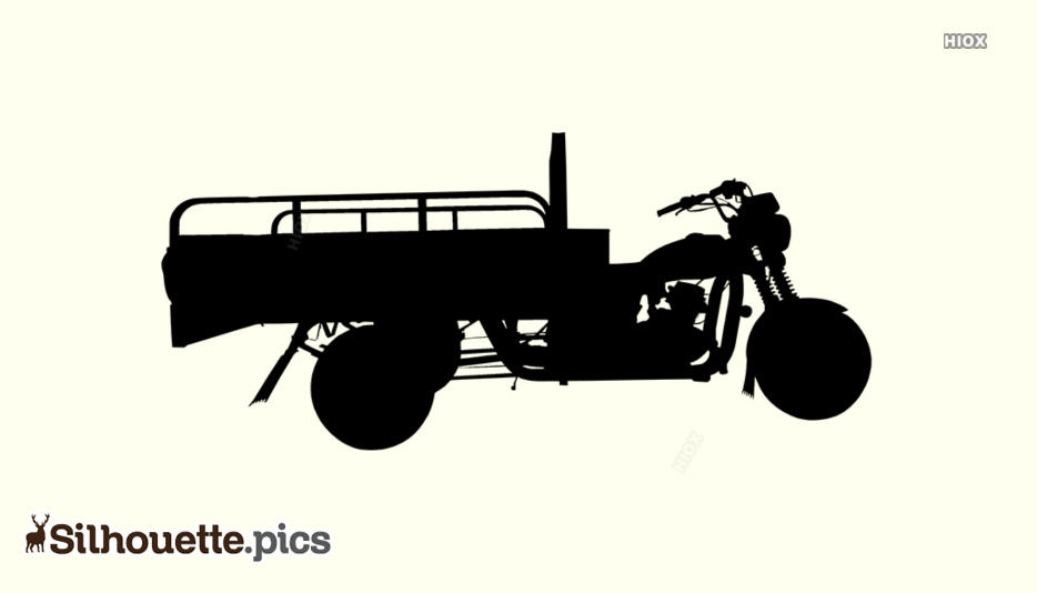 Bullet Cart Silhouette Images