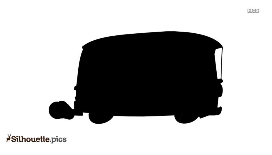 Bus Clipart Silhouette