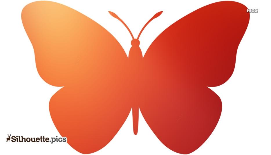 Butterfly Drawings Silhouette Art