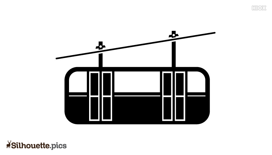 Cable Car Silhouette