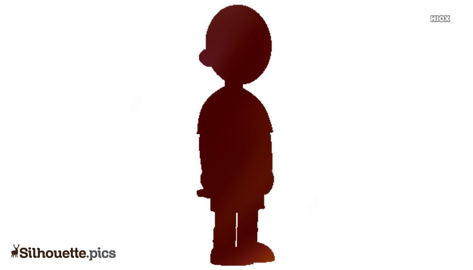 Caillou Silhouette Image