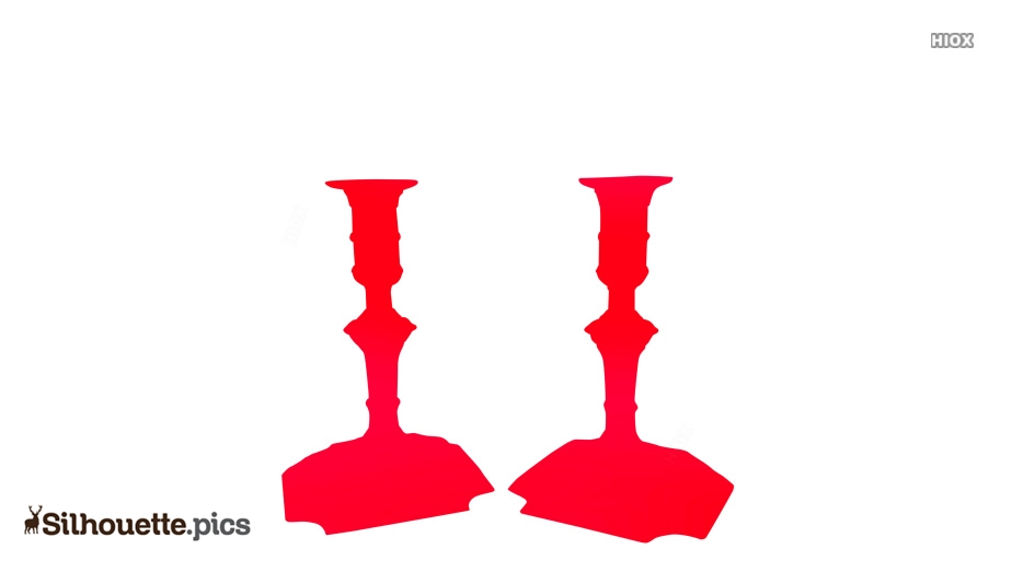 Candle Holders Silhouette Images
