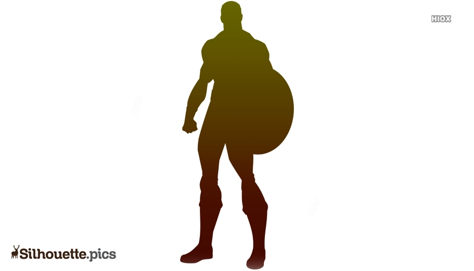 Captain Marvel Character Silhouette Picture