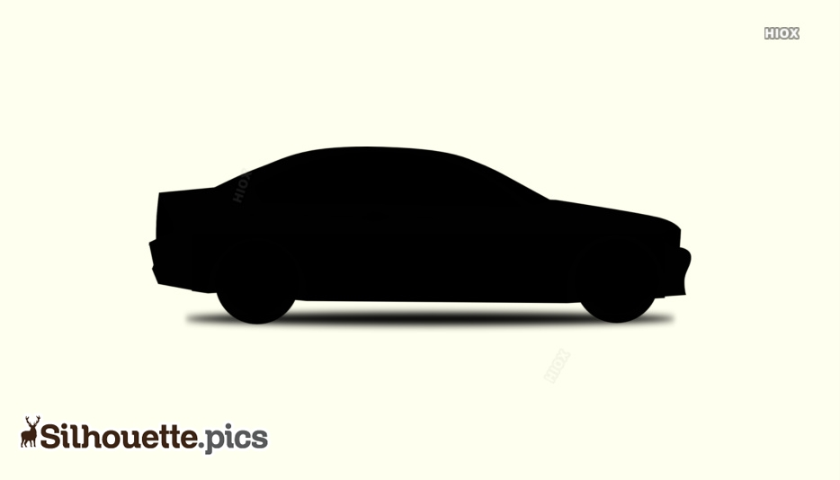Luxury Sedan Car Silhouette Image
