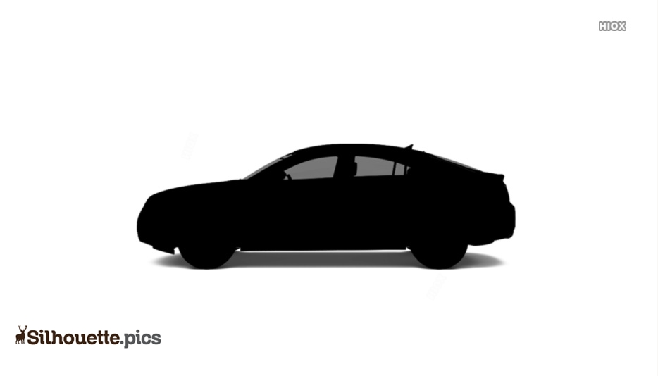 Car Side View Silhouette Image