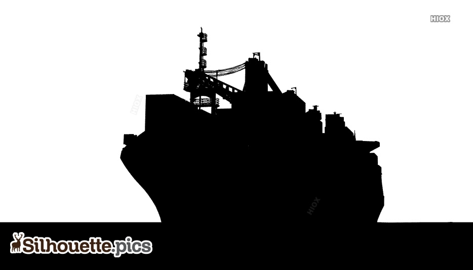 d586bad4ca Cargo Ship Front View Silhouette · Download