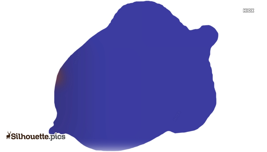Cartoon Acorn Nut Silhouette Free Vector Art